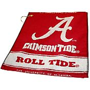 Team Golf Alabama Crimson Tide Crimson Woven Towel