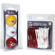 Team Golf Kansas City Chiefs 3 Ball/50 Tee Combo Gift Pack