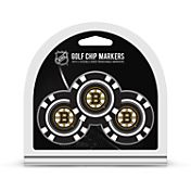 Team Golf Boston Bruins Poker Chips Ball Markers - 3-Pack