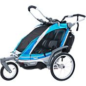 Thule Chariot Chinook 2 Double Stroller and Jogger