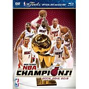 2013 NBA Championship Highlights DVD/Blu-ray Combo