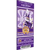 That's My Ticket Los Angeles Lakers Kobe Bryant Artist Series Canvas Ticket