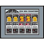 That's My Ticket San Antonio Spurs 2014 NBA Finals Tickets Framed Print