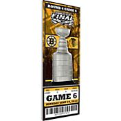 That's My Ticket Boston Bruins 2013 Stanley Cup Final Ticket