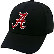 Top of the World Men's Alabama Crimson Tide Black Premium Collection M-Fit Hat