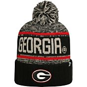 Top of the World Men's Georgia Bulldogs Black/White/Red Acid Rain Knit Beanie
