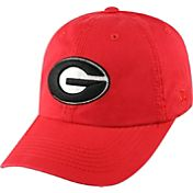 Top of the World Men's Georgia Bulldogs Red Crew Adjustable Hat