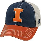 Top of the World Men's Illinois Fighting Blue/White/Orange Off Road Adjustable Hat