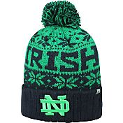 Top of the World Men's Notre Dame Fighting Irish Navy/Green Sub Arctic Knit Beanie