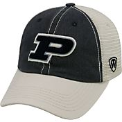 Top of the World Men's Purdue Boilermakers Black/White/Old Gold Off Road Adjustable Hat