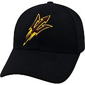 Top of the World Men's Arizona State Sun Devils Black Premium Collection M-Fit Hat