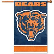 Chicago Bears Applique Banner Flag