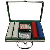 Trademark Poker 200 Super Diamond Chip Poker Set and Case