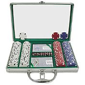 Trademark Poker 200 Chip Texas Hold'Em Set and Case