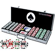 Trademark Poker 4 Aces Poker Chip Set and Case