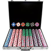 Trademark Poker 1,000 Chip NexGen PRO Classic Style Poker Set and Case