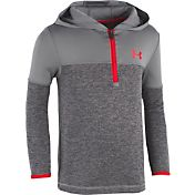 Under Armour Little  Boys' Quarter-Zip Hoodie
