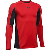 Under Armour Boys' HeatGear Armour Up Long Sleeve Shirt
