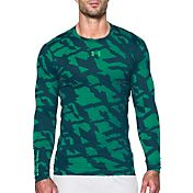 Under Armour Men's ColdGear Jacquard Compression Crewneck Long Sleeve Shirt