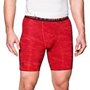 Under Armour Men's HeatGear Armour Printed 6'' Compression Shorts