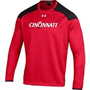 Under Armour Men's South Cincinnati Bearcats Red Ultimate Tech Pullover Shirt