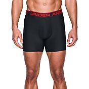 "Under Armour Men's Original 6"" Boxerjock Boxer Briefs"
