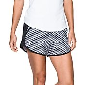 Under Armour Women's Fly By Printed Running Shorts