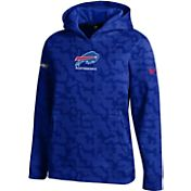 Under Armour NFL Combine Authentic Youth Buffalo Bills Armour Fleece Blue Hoodie