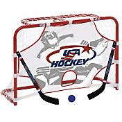 "USA Hockey 32"" Mini Hockey Goal Set"