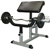 Valor Fitness Preacher Curl Bench