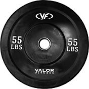 Valor Fitness 55 lb. Olympic Bumper Plate