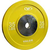 Valor Fitness 35 lb. Olympic Bumper Plate X