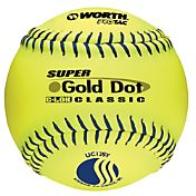 Worth 12' USSSA Super Gold Dot Slow Pitch Softball