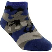 Yaktrax Toddler Cozy Cabin Camo Crew Socks