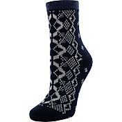 Yaktrax Women's Cozy Cabin Socks