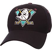 Zephyr Men's Anaheim Ducks Breakaway Black Flex Hat