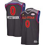 adidas Men's Russell Westbrook #0 2017 All-Star Game Western Conference Replica Jersey