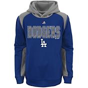 Majestic Youth Los Angeles Dodgers Therma Base Geo Fuse Royal Hooded Fleece