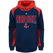 Majestic Youth Boston Red Sox Therma Base Geo Fuse Navy Hooded Fleece