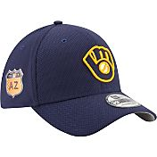 New Era Men's Milwaukee Brewers 39Thirty 2017 Spring Training Flex Hat