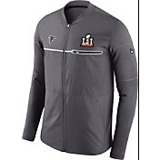 Nike Men's Super Bowl LI Bound Atlanta Falcons Full-Zip Media Night Hybrid Jacket
