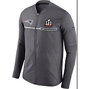 Nike Men's Super Bowl LI Bound New England Patriots Full-Zip Media Night Hybrid Jacket