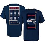 Nike Youth Super Bowl LI Champions New England Patriots Roster Navy T-Shirt