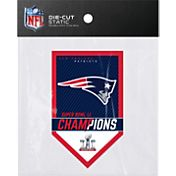 Rico Super Bowl LI Champions New England Patriots Die-Cut Static Cling