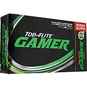 Top Flite Gamer Golf Balls + Gamer Tour Bonus Sleeve – 15-Pack