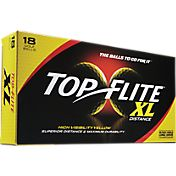 Top Flite XL Distance Yellow Golf Balls – 18-Pack - Prior Generation