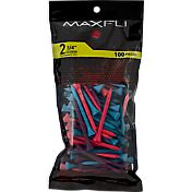 Maxfli 2.75'' Mixed Berry Golf Tees – 100-Pack